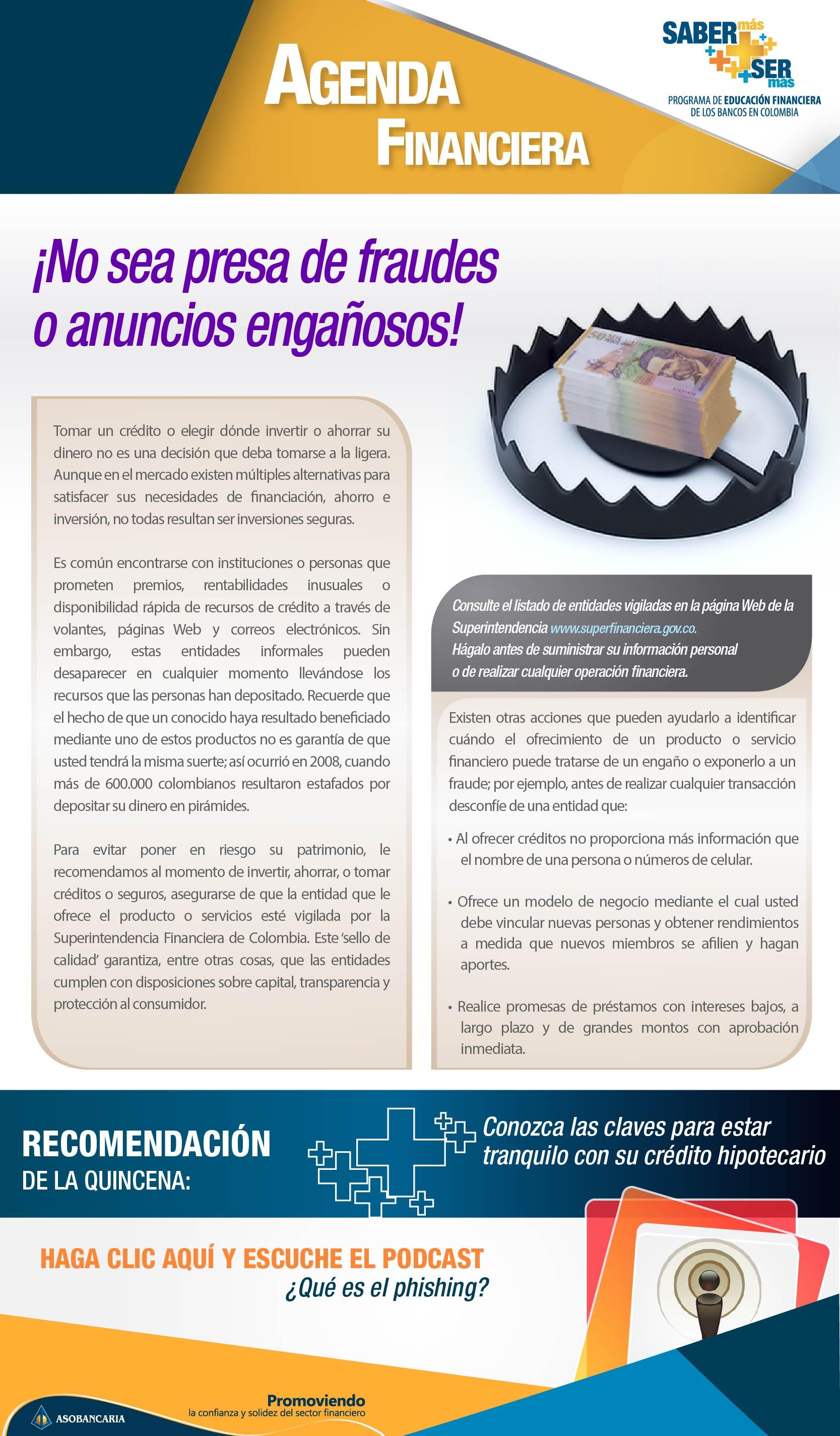 Boletin 15 - No sea presa de fraudes o anuncios enga+¦osos
