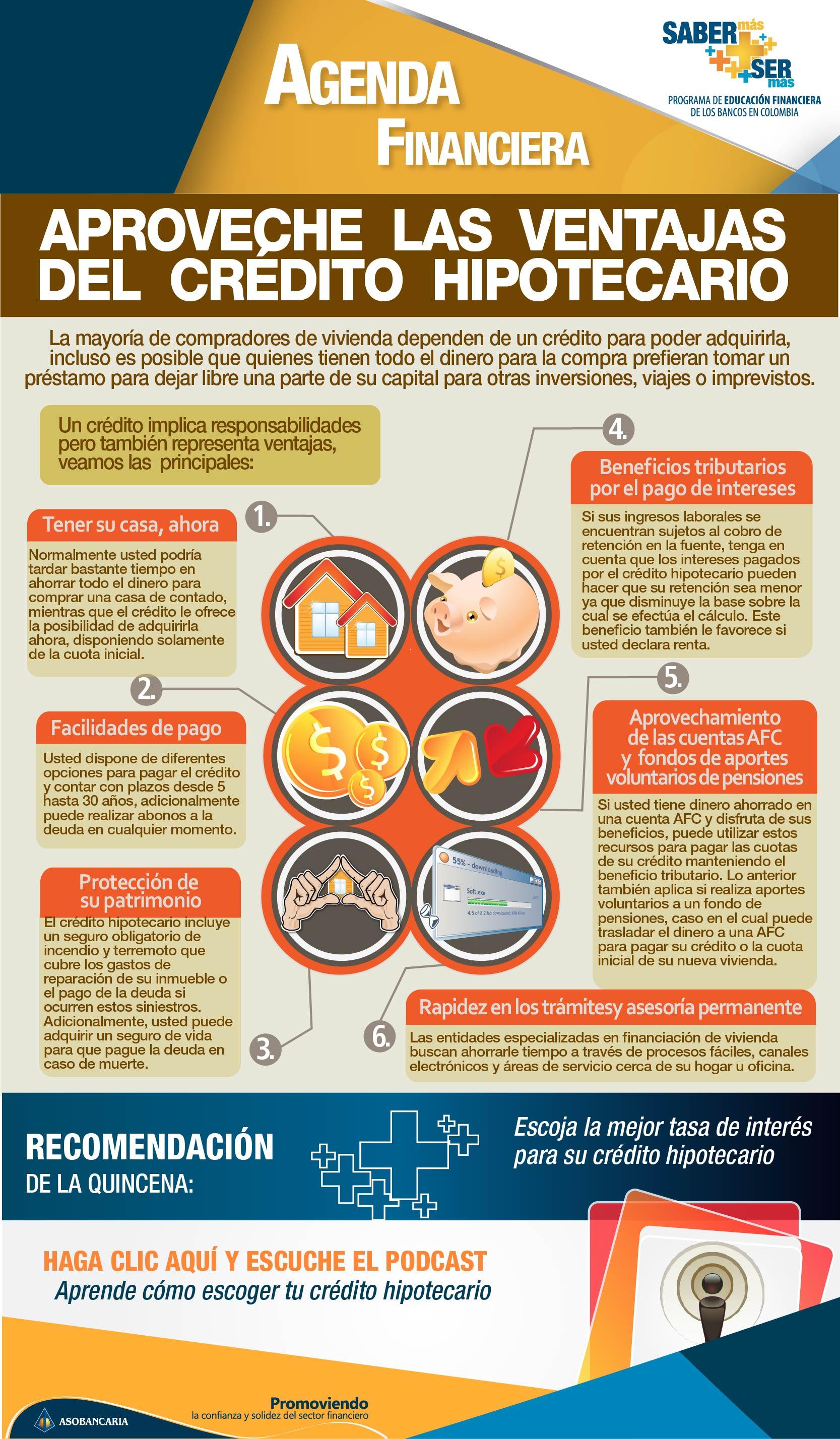 Boletin 17 - Aproveche las ventajas del credito hipotecario