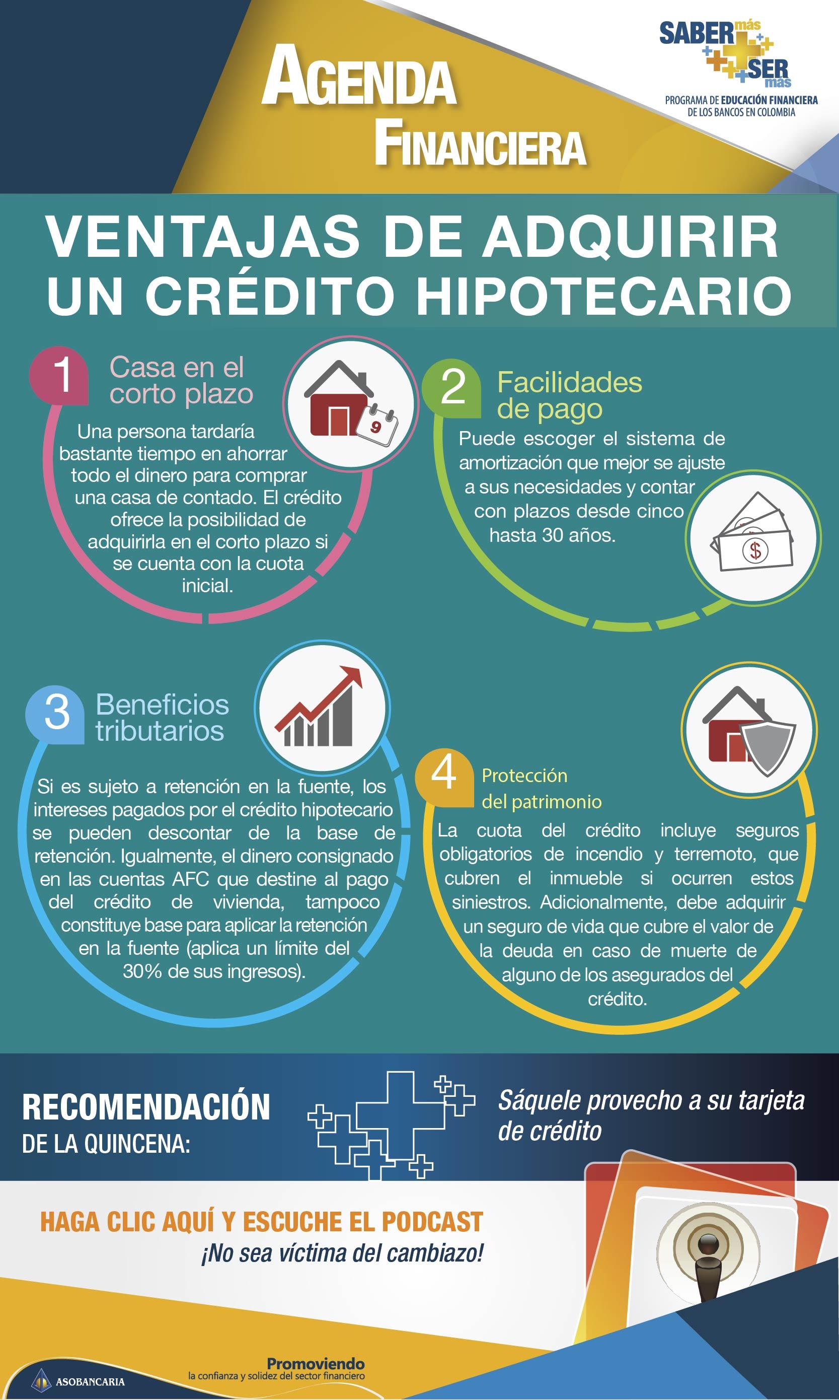 Boletin 27 -  Ventajas de adquirir un credito hipotecario