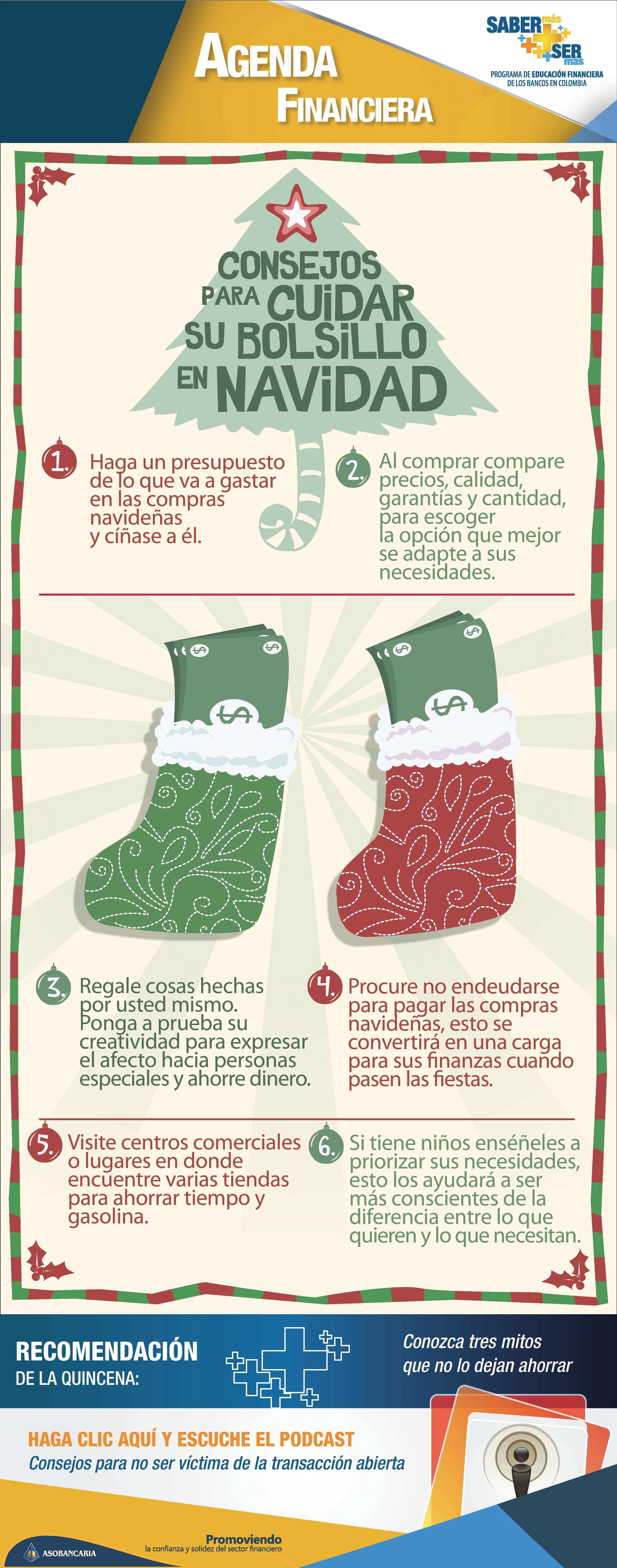Boletin 90 - Consejos para cuidar su bolsillo en navidad
