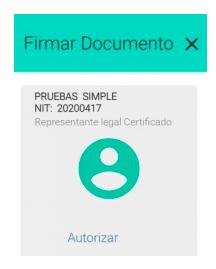 firma electrónica declaración sugerida de renta